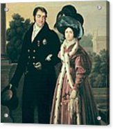Cruz Y Rios, Luis De La  1776-1853 Acrylic Print