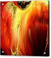 Crying For Love Modern Abstract Art By Kredart Acrylic Print