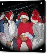Crying Junior Santa Christmas Parade Eloy Arizona 2005-2013 Acrylic Print