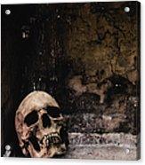 Crypt Acrylic Print