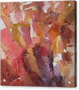 Crystal Cascade Acrylic Print