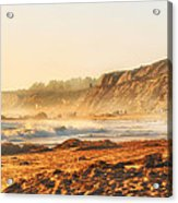 Crystal Cove At Sunset 1 Acrylic Print