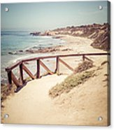Crystal Cove Overlook Picture Acrylic Print by Paul Velgos