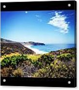 Crystal Cove Acrylic Print by Troy Lewis