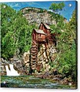 Crystal Mill Crystal Colorado Acrylic Print by Ken Smith