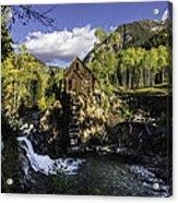Crystal Mills Mine Acrylic Print