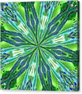 Crystal Ocean Acrylic Print by Donna Blackhall