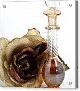 Crystal Perfume Bottle Acrylic Print