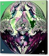 Crystal Royale Fractal Acrylic Print