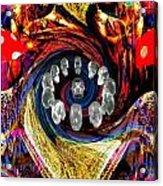 Crystal Skulls Acrylic Print by Jason Saunders