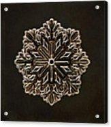 Crystal Snowflake Acrylic Print