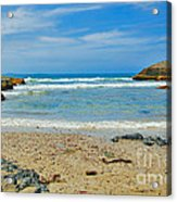 Crystal Waters - Port Macquarie Beach Acrylic Print