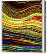Crystal Waves Abstract 1 Acrylic Print
