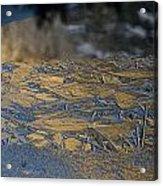 Crystalline Surface Of Mirror Lake In Yosemite Valley Acrylic Print