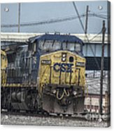 Csx 7745 Engine 01 Acrylic Print