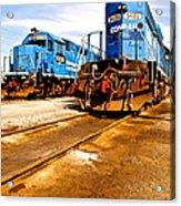 Csx Railroad Acrylic Print