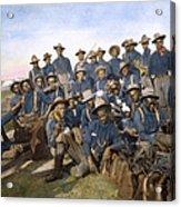 Cuba - Tenth Cavalry 1898 Acrylic Print