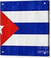 Cuba Flag Acrylic Print