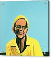 Cuban Portrait #13, 1996 Acrylic Print