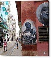 Cuban Street Art 3 Acrylic Print