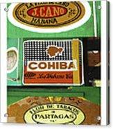 Cubanos Acrylic Print