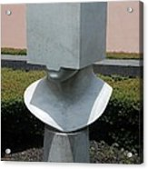 Cube Head Acrylic Print
