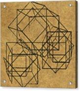 Cubed II Acrylic Print