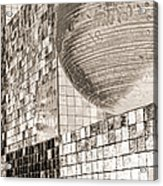 Cubes And Balls Acrylic Print