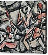 Cubism Acrylic Print