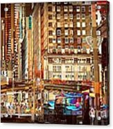 Grand Central And 42nd St Acrylic Print