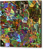 Night Market - Outdoor Markets Of New York City Acrylic Print