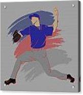 Cubs Shadow Player Acrylic Print