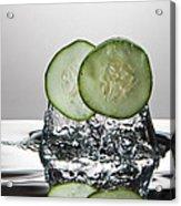 Cucumber Freshsplash Acrylic Print