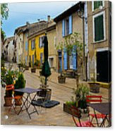 Cucuron In Provence Acrylic Print