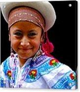 Cuenca Kids 314 Acrylic Print