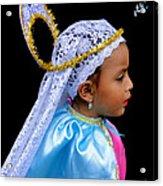 Cuenca Kids 363 Acrylic Print by Al Bourassa