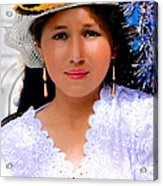 Cuenca Kids 491 Acrylic Print