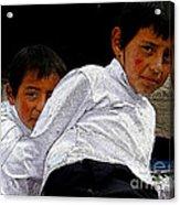 Cuenca Kids 548 Acrylic Print