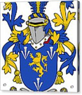 Culligan Coat Of Arms Irish Acrylic Print