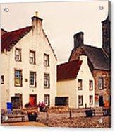Culross Sketches 3. Scotland Acrylic Print