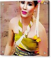 Culture Girl Acrylic Print