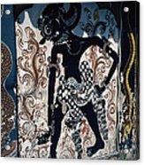 Culture Graffiti Acrylic Print