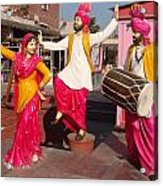 Culture Of Punjab Acrylic Print