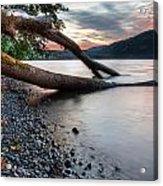 Cultus Lake Sunset Acrylic Print