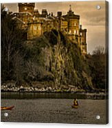 Culzean Castle Scotland Acrylic Print by Alex Saunders