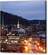 Cumberland At Night Acrylic Print