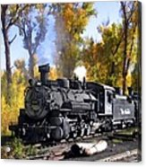 Cumbres And Toltec Railroad Acrylic Print