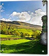 Cumbrian View Acrylic Print