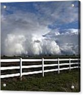 Cumulus Clouds Over Stockton Acrylic Print
