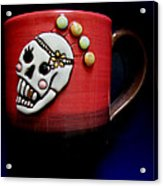 Cup In Bowl Acrylic Print
